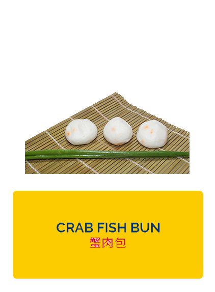 Wei Wei Crab Fish Bun