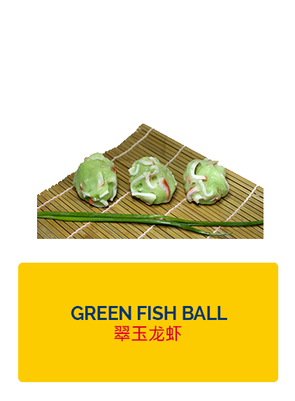 Wei Wei Green Fish Ball